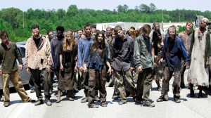 Maybe if there was a gang of zombies following me, it would make the whole walking thing a bit more interesting.