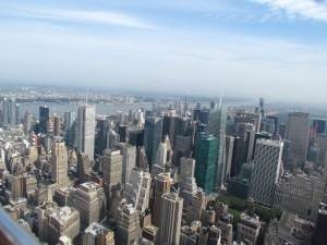 A view from Top of the Rock