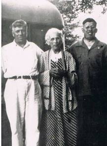 My Grandfather and Great Grandmother with William Hercules...who is awesome and on the right.