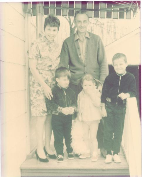 Blackford family photo 1969